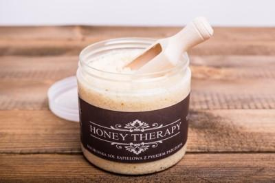 Sare de baie - Honey Therapy, 750g-big