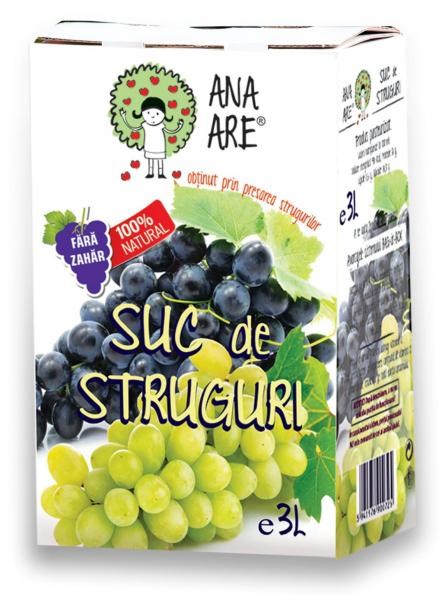 Suc de struguri  100 % natural - 3L-big