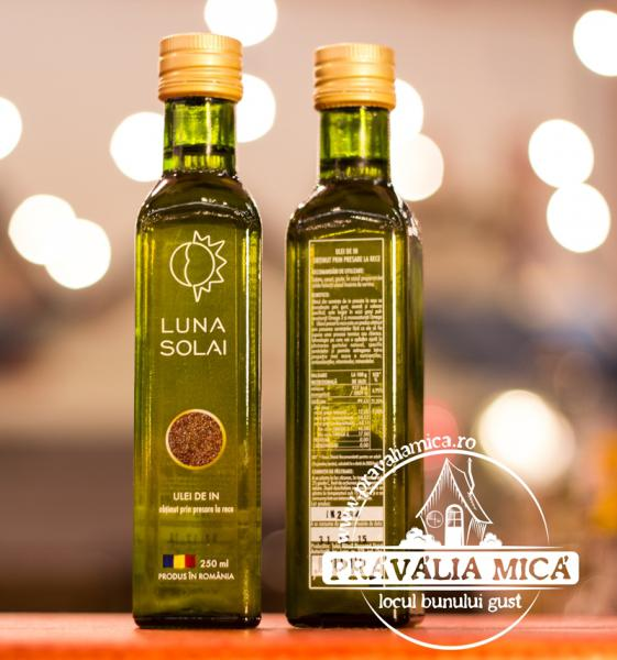 Ulei de in presat la rece Luna Solai 250ml-big
