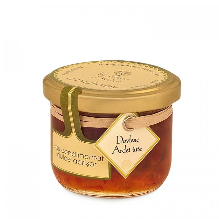 Chutney de Dovleac cu Ardei iute 120g - Les saveurs d'Yveline