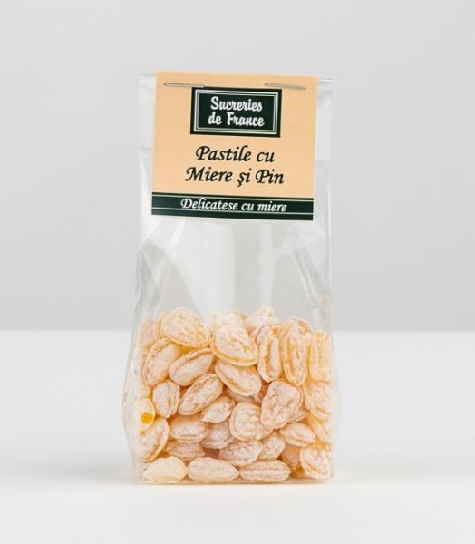 Bomboane cu miere si pin 100g - Apidava