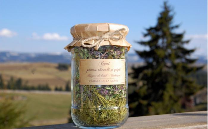 Ceai pentru raceala si gripa 20g - Camara de la munte