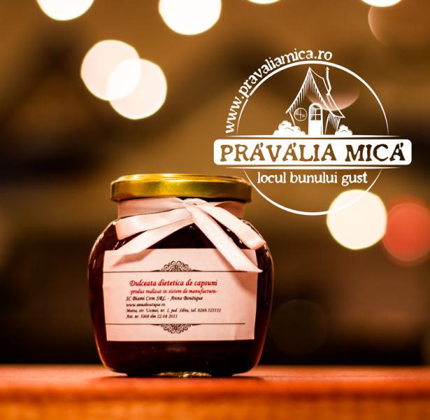 Dulceata dietetica de capsuni 200g - Anna Boutique
