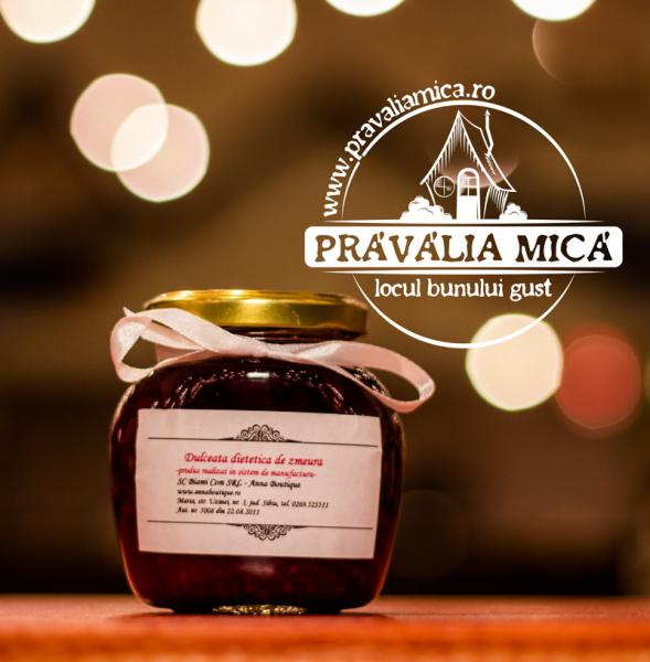 Dulceata dietetica de zmeura 200g - Anna Boutique
