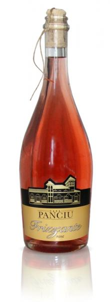Frizzante rose demisec 750ml - Casa Panciu