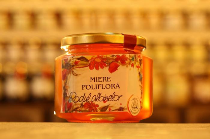 Miere poliflora 500g - Prisaca Transilvania 0