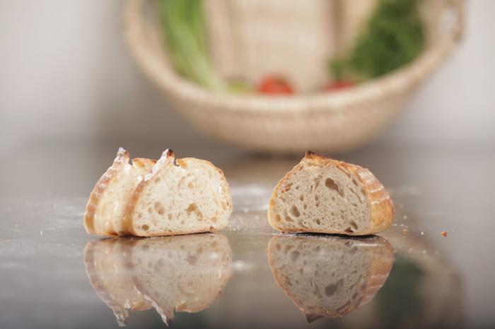 Pâine albă cu usturoi 600g - MamaPan