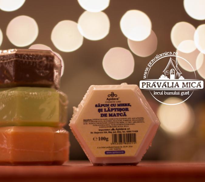 Sapun cu laptisor de matca 100g - Apidava