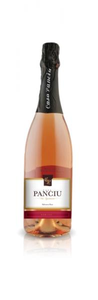 Spumant Rose demisec 750ml - Casa Panciu