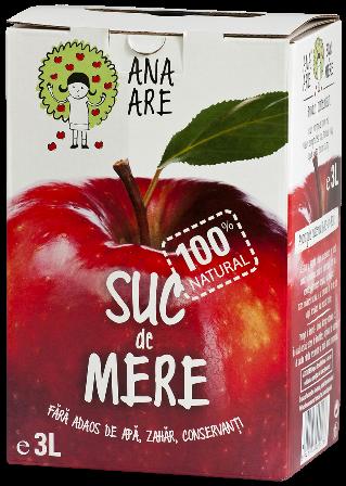 Suc de mere 100% natural 3L - Ana are