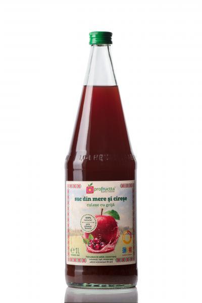 Suc din mere si cirese 100% natural 1L - Profructta