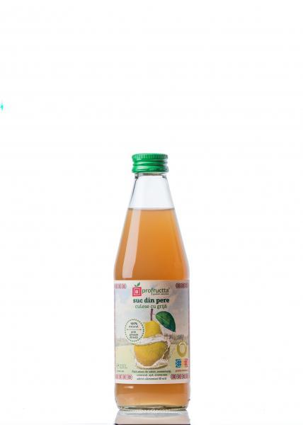 Suc din pere, 100% natural - 0.33l