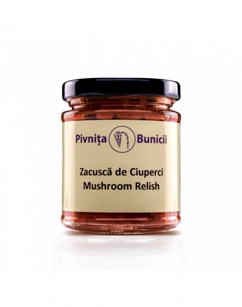 Zacusca de ciuperci  190g - Pivnita Bunicii