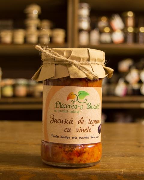 Zacusca de legume cu vinete 300g - Placerea-n Bucate