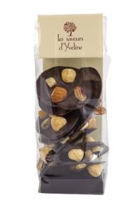 Palet Mendiant - Ciocolata Neagra 80g