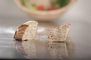 Pâine integrala cu susan negru 600g - MamaPan
